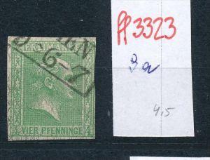 Preussen  Nr. 9a     o     (ff3323  ) siehe scan vergrößert !