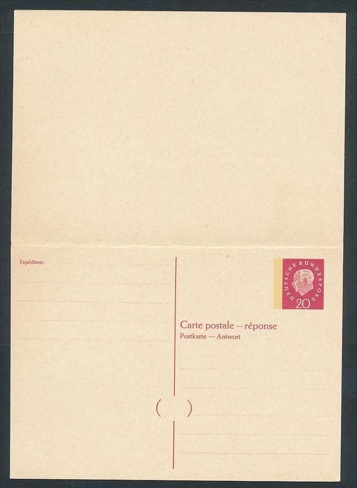 BRD -Ganzsache - P46 A+F   (bc7583  ) siehe scan !