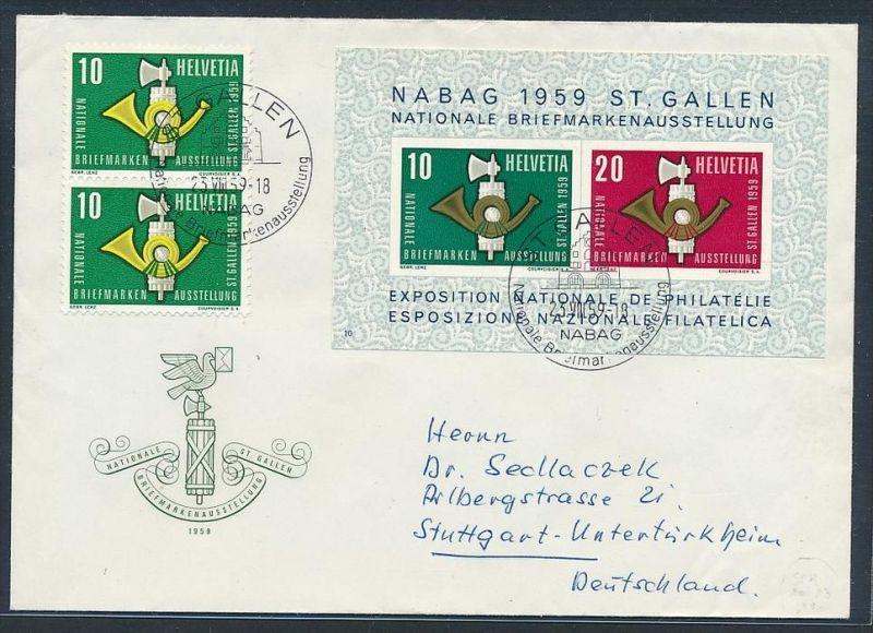 Schweiz Sammler Brief Block 16 Zz7404 Siehe Scan Nr