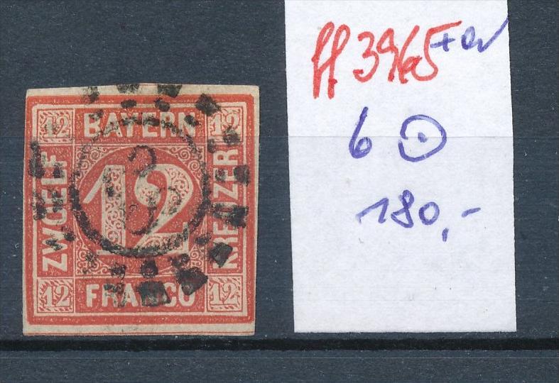 Bayern  Nr.  Nr. 6   o   (ff3965 ) siehe scan-alte Marken preiswert !