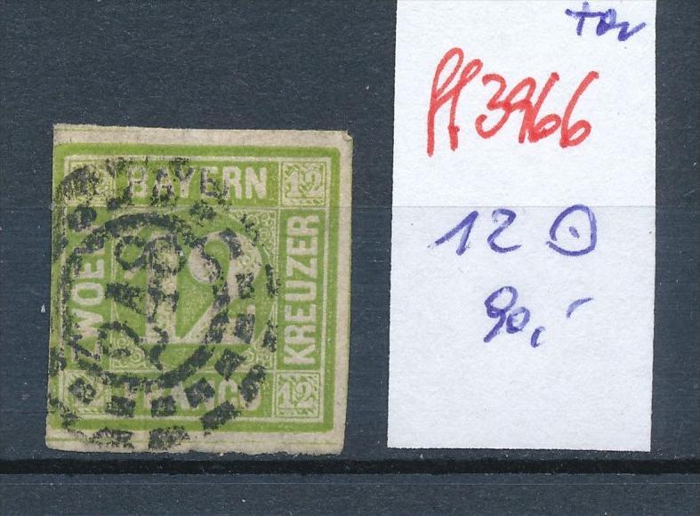 Bayern  Nr.  Nr. 12   o   (ff3966 ) siehe scan-alte Marken preiswert !