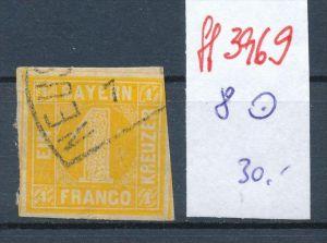 Bayern  Nr.  Nr. 8   o   (ff3969 ) siehe scan-alte Marken preiswert !