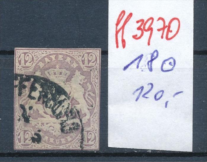Bayern  Nr.  Nr. 18   o   (ff3970 ) siehe scan-alte Marken preiswert !