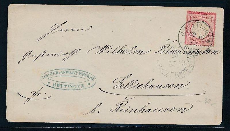 D.-Reich Brustschild Beleg - Goettingen   (bc 8043  ) siehe scan !