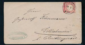 D.-Reich Brustschild Beleg - Goettingen   (bc 8044  ) siehe scan !
