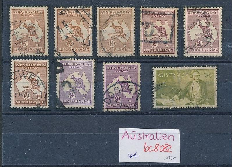 Australien Lot  ältere Marken  ( bc8082 ) siehe scan !