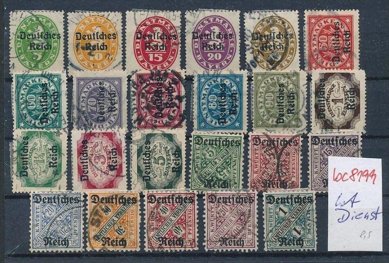 Deutsches Reich Lot   Lot -   (bc8199 ) siehe scan !