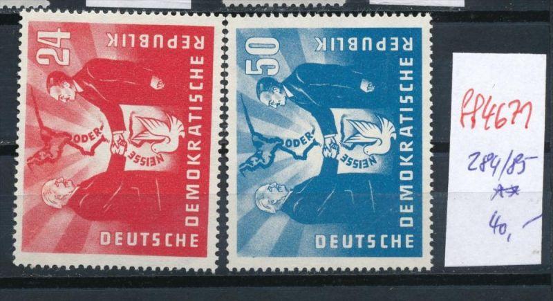 DDR Nr. 284-85   **   (ff4671 ) siehe scan !