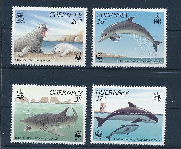 Fische Guernsey   **        (bc8692  ) siehe scan !