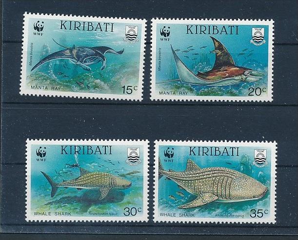 Fische - Kiribati   **        (bc8682  ) siehe scan !