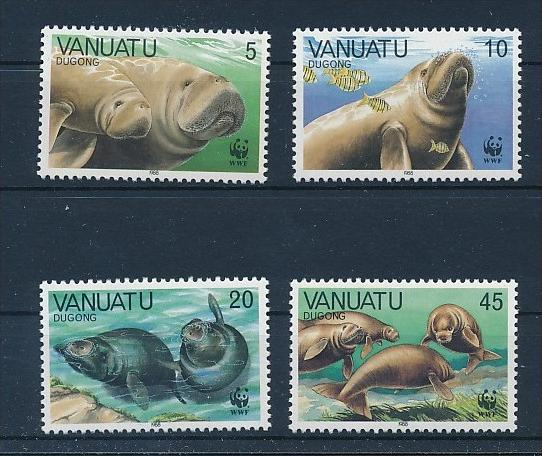 Meeres Tiere  - Vanuatu     **        (bc8681  ) siehe scan !