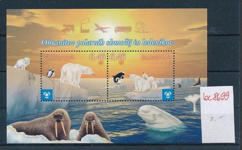 Meeres Tiere  - Slowenien   **        (bc8699  ) siehe scan !