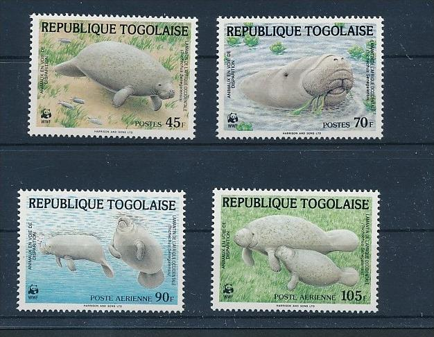 Meeres Tiere  - Togo  **        (bc8696  ) siehe scan !