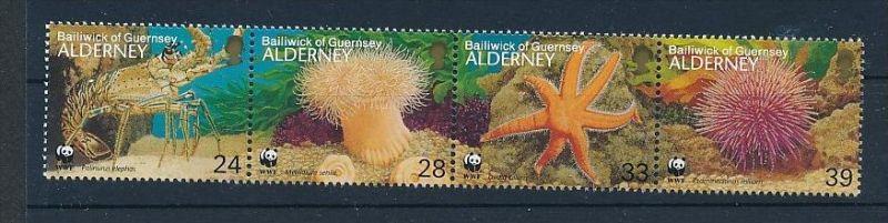 Meeres Tiere  -  Alderney  **        (bc8693  ) siehe scan !