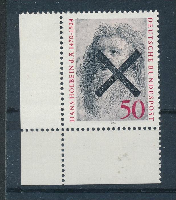 BRD - Aufdruck Andreaskreuz   ** (ff4927 ) siehe scan !