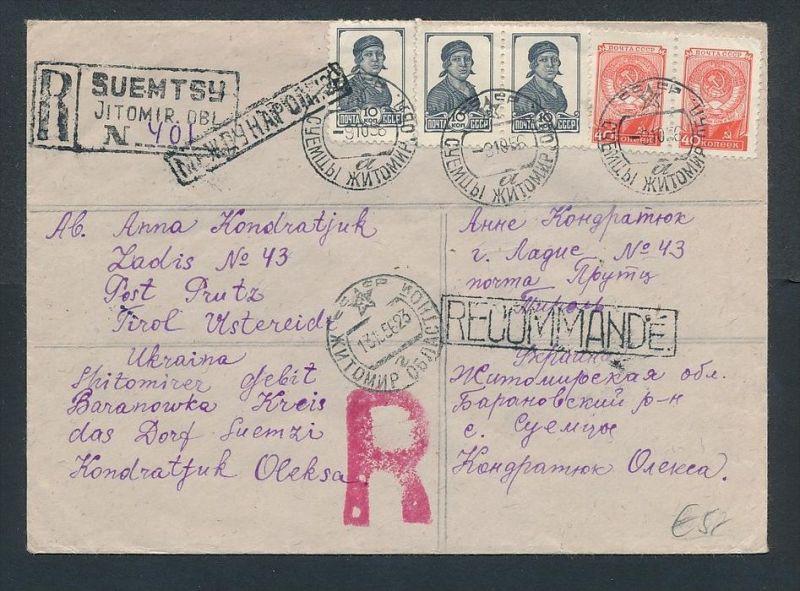 Russland-Ukraine R.-Brief     (zz7937  ) siehe scan !