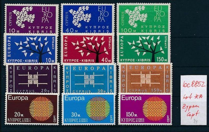 Cept **  Lot  Zypern  div.Jahre   -DISCOUNT    (bc8852) siehe scan