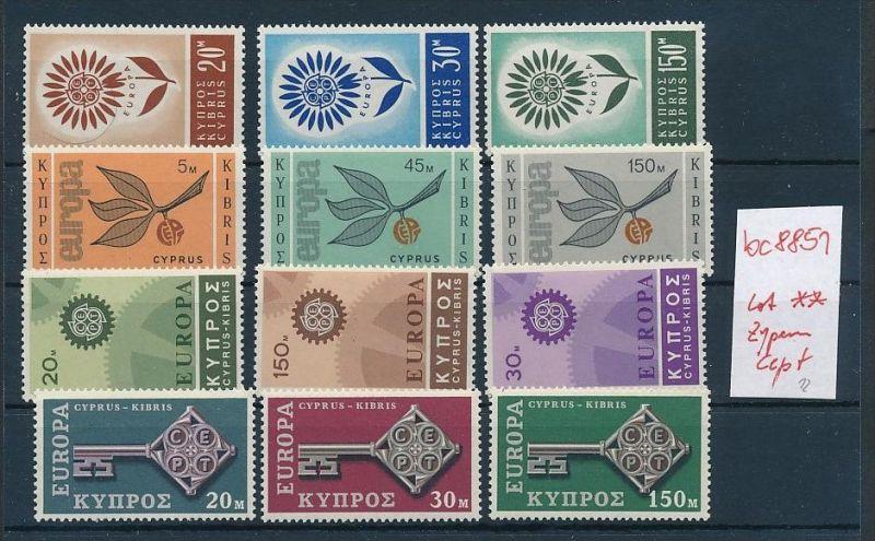 Cept **  Lot  Zypern  div.Jahre   -DISCOUNT    (bc8851 ) siehe scan