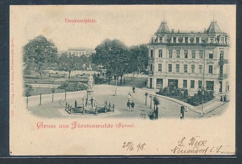 Fürstenberg  alte Karte-gebraucht  (bc9421  ) siehe scan  !
