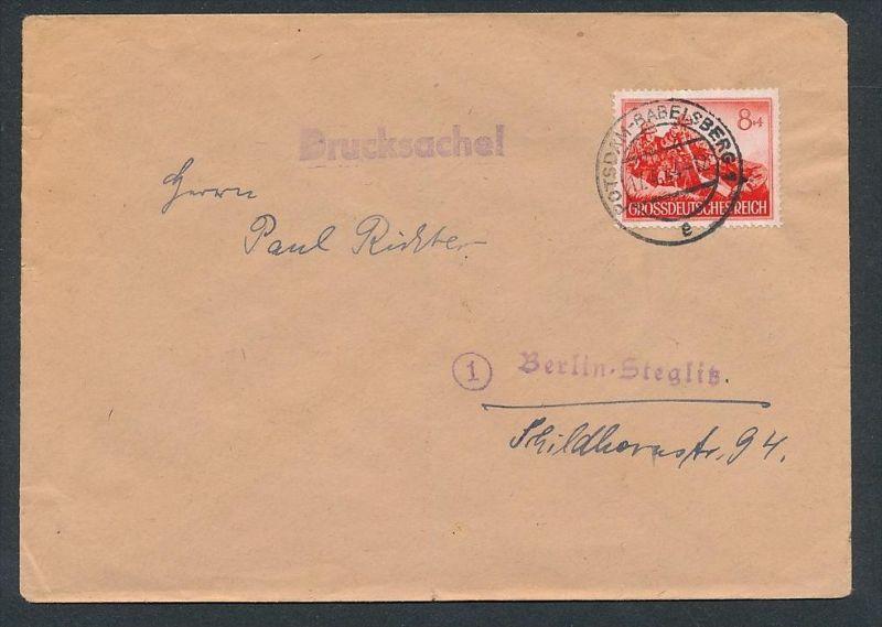 D.-Reich - Sammler Beleg _Drucksache  ( zz8219 ) siehe scan  !