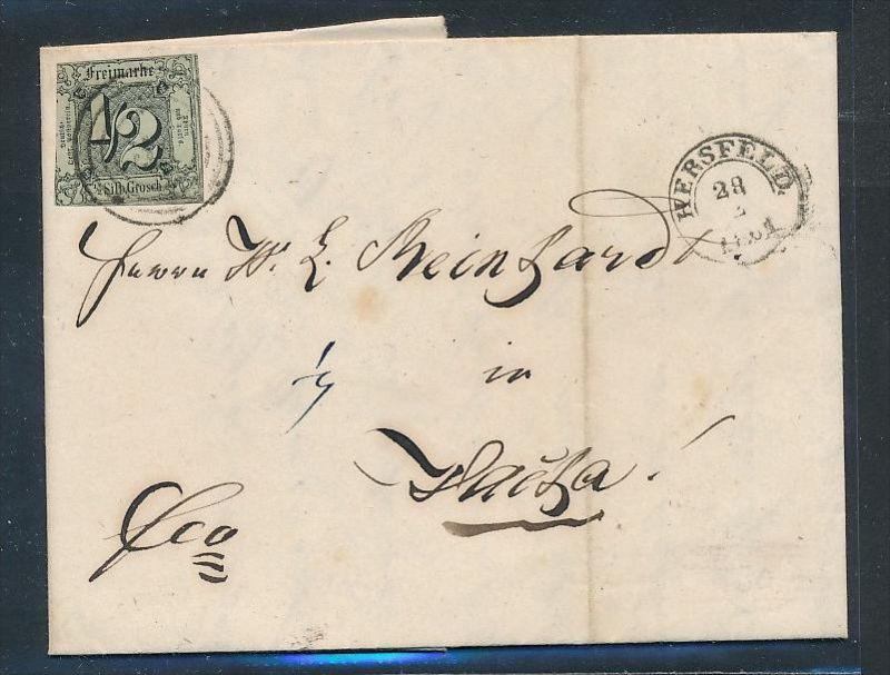 Thurn & Taxis Brief      (bc9510  ) siehe scan  !