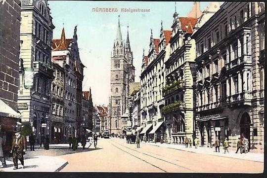 Nürnberg alte Karte    (ba5404 ) siehe scan