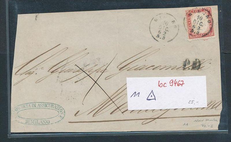 Italien alte Briefvorderseite    (bc9467 ) siehe scan  !