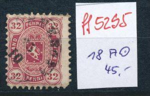 Finnland Nr. 18 A    o    (ff5295  )  siehe scan  !