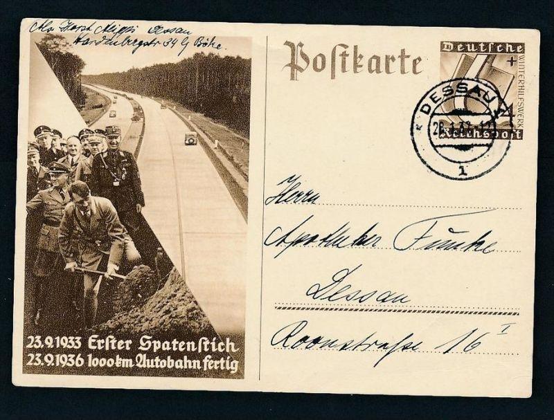 3. Reich  Ganzsache     (zz8698 ) siehe scan !