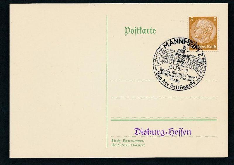 D.-Reich-werbe/Propaganda Stempel Beleg   (be 280 ) siehe scan !