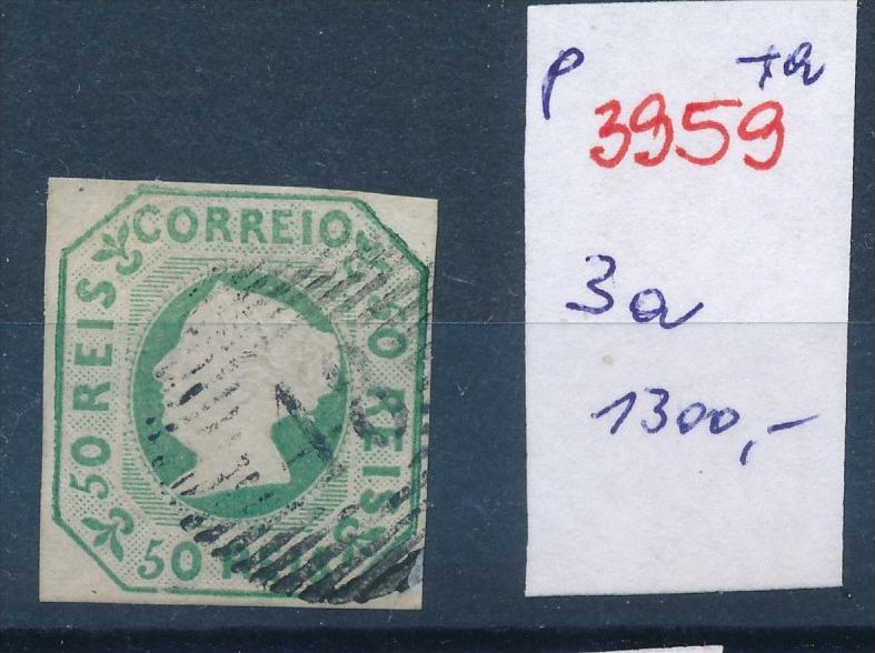 Portugal Nr. 3a    o   (p3959 )  siehe scan !