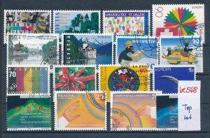Schweiz super Steckkarten Lot -Versandstellen Stempel-DISCOUNT (be568 ) Rechnen Sie mal den SFR.-Post-Preis ..!