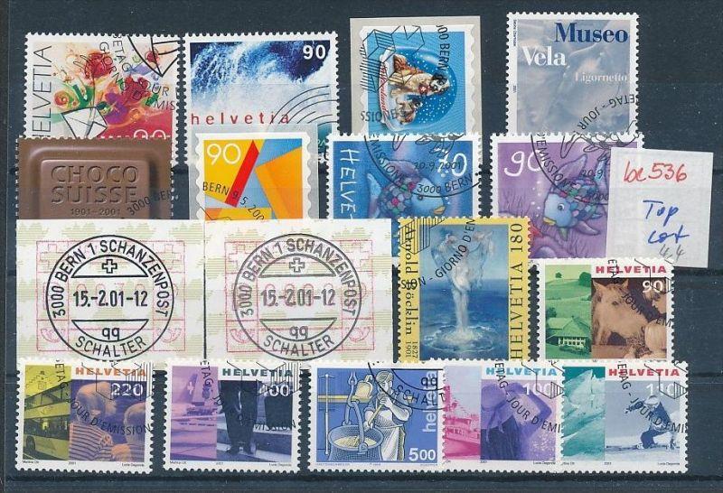 Schweiz super Steckkarten Lot -Versandstellen Stempel-DISCOUNT (be536 ) Rechnen Sie mal den SFR.-Post-Preis ..!