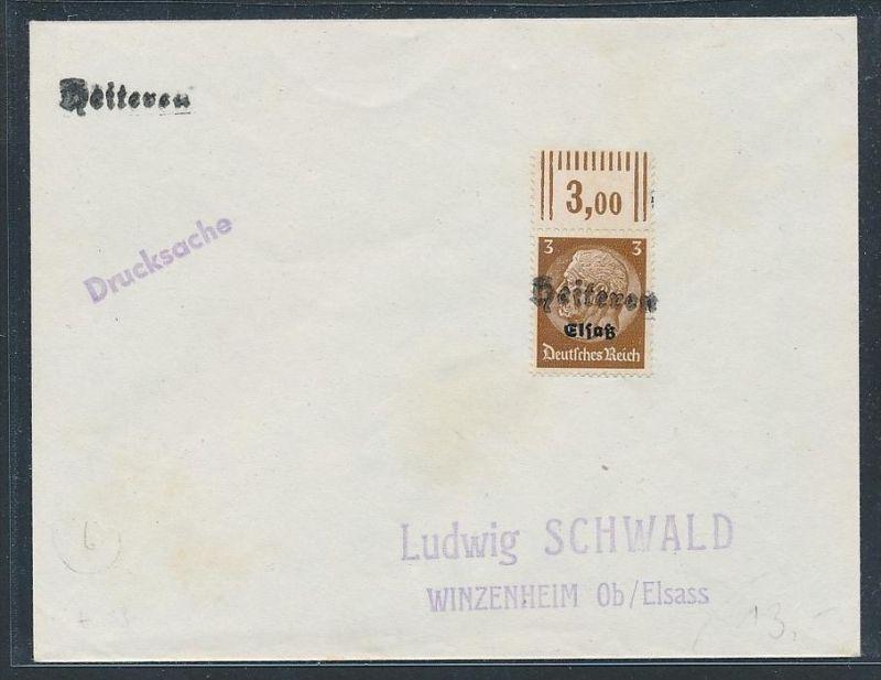 Elsaß  netter Stempel Beleg    (be629  ) siehe scan  !