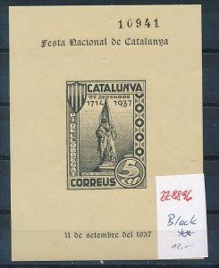 Spanien Block Catalonga  1937    -Bürgerkrieg    ** (zz8896  ) siehe scan  !