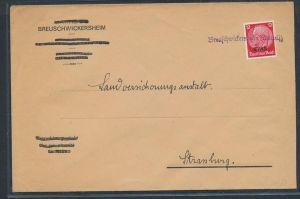 Elsaß netter Stempel Beleg    (zz8798  ) siehe scan