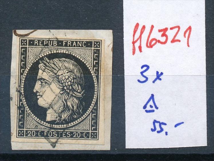 Frankreich Nr. 3x  o    (ff6321  ) siehe scan