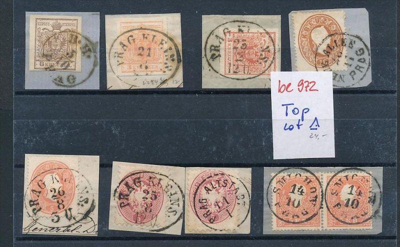 Österreich Kaiser Zeit schönes Stempel Lot  (be972 ) siehe scan ....