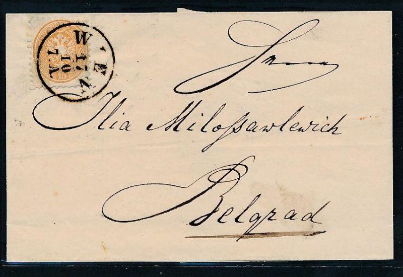 Österreich Kaiser Zeit netter Beleg   (be 1024 ) siehe scan ....