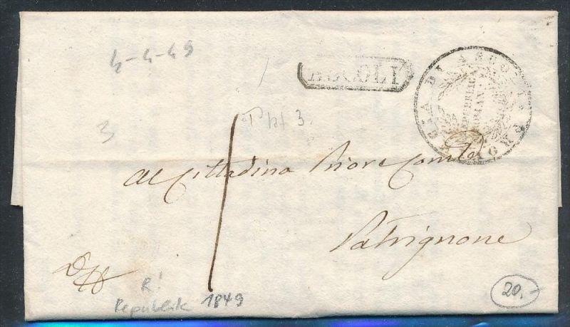 Italien Brief Mit Amtlichen Inhalt Ascoli Be1023 Siehe Scan