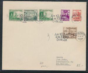 Österreich-Kaiserzeit  -Sammler Beleg 1938   ( zz8916 ) siehe scan !