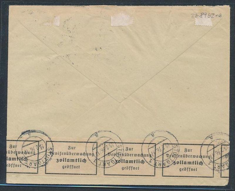 Österreich - Luftpost Beleg  Zensur  ( zz8952  ) siehe scan ! 1