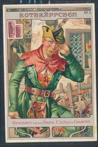 alte Karte-Märchen- Werbung  selten   ( be959  )siehe scan