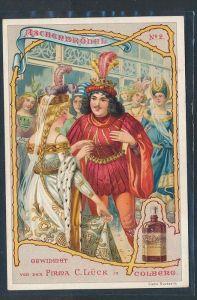 alte Karte-Märchen- Werbung  selten   ( be960  )siehe scan