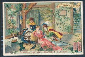 alte Karte-Märchen- Werbung  selten   ( be961  )siehe scan
