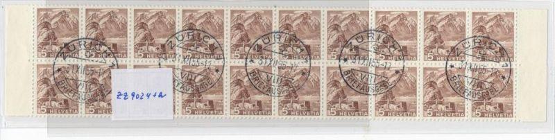 Schweiz Streifen 10x 500 R+10x 500 Rollenmarken aus Bogen 1000,-Michel (zz9024 ) bitte lesen ! Sonderpreis !
