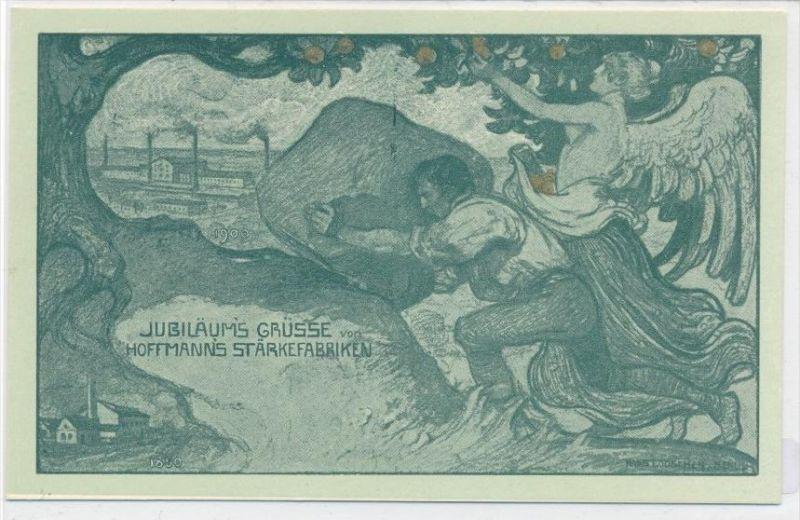 Werbung Hoffmanns Stärkefabriken ungebraucht  -alte Karte   (da 4942 ) siehe scan vergrößert...