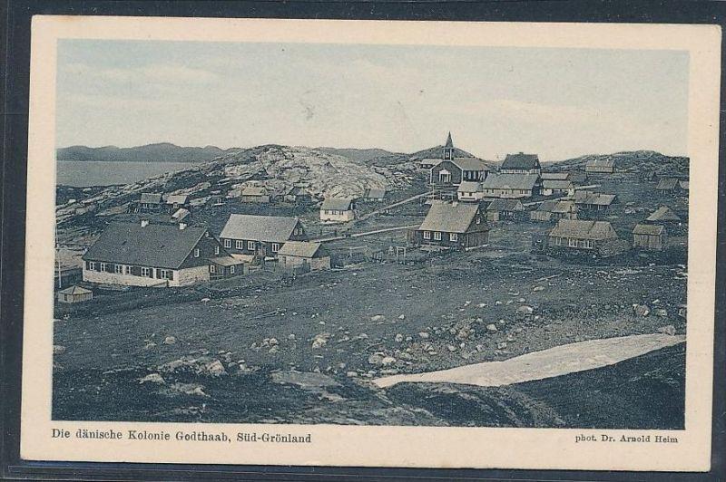 Grönland,  ungebraucht-alte Karte (da5047 ) siehe scan