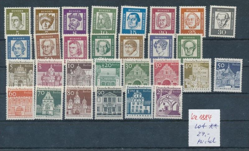 Berlin  Lot    **     Discount !!! -schönes Lot (be1884  ) siehe scan....