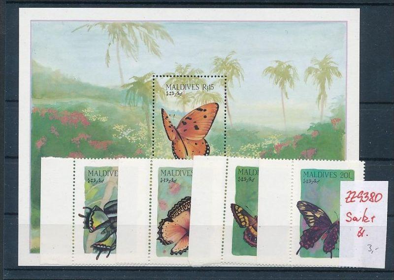 Schmetterlinge  -Malediven   **   (zz9380  ) siehe scan